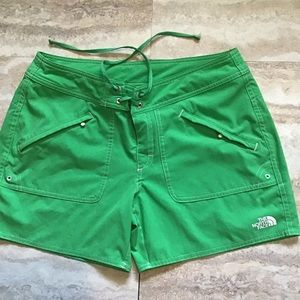 The North Face Green Shorts